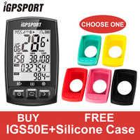 IGPSPORT GPS Bicicleta Deporte Impermeable Ordenador IPX7 ANT + Velocímetro Inalámbrico Bicicleta Cronómetro Ciclismo Velocímetro