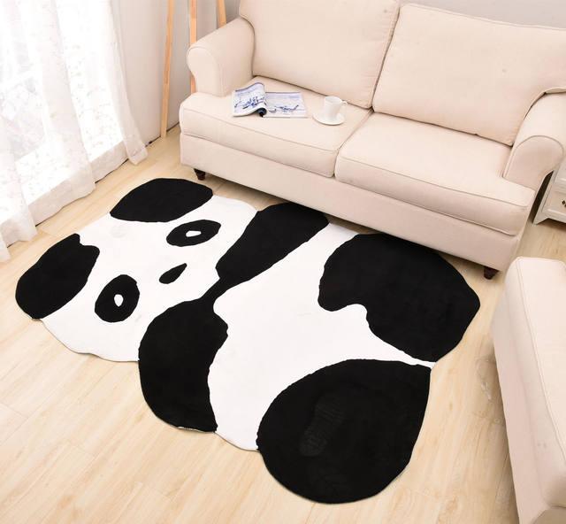 Animal Carpet Cartoon Eco Friendly Baby Floor Mat Lovely Panda Soft Play Rugs Decoration