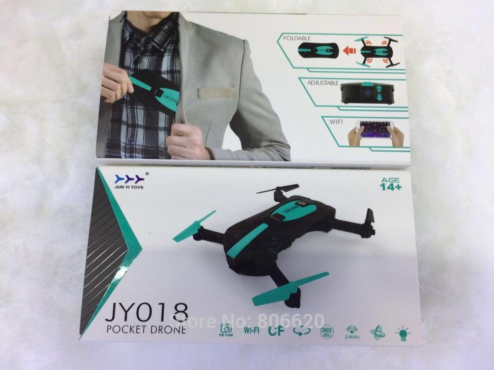 Low Cost HD Wifi Real-time Aerial Photography Foldable Toy Drone with No Head Mode & Mobile Phone & Tablet App Gravity Control_9