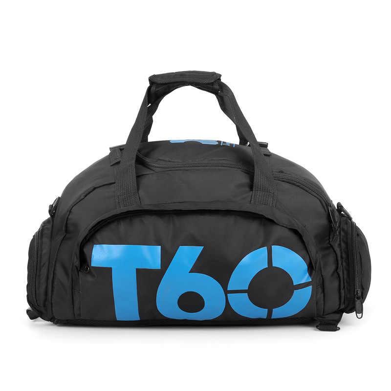 2019 אופנה גברים נסיעות תיק גדול קיבולת נשים יד מטען סיבתי נסיעות דובון שקיות גדול נסיעות תיק ספורט תיק עמיד למים