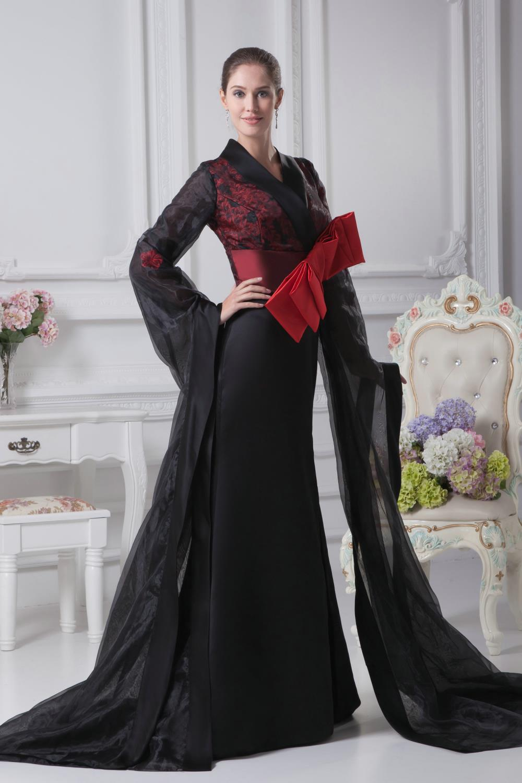 Japanese Prom Dresses Black