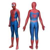 Spider-Man 3 Raimi Spiderman Cosplay Costume di Zentai del Supereroe Tuta Vestito Tute e Tute da Palestra con hard suola di scarpe