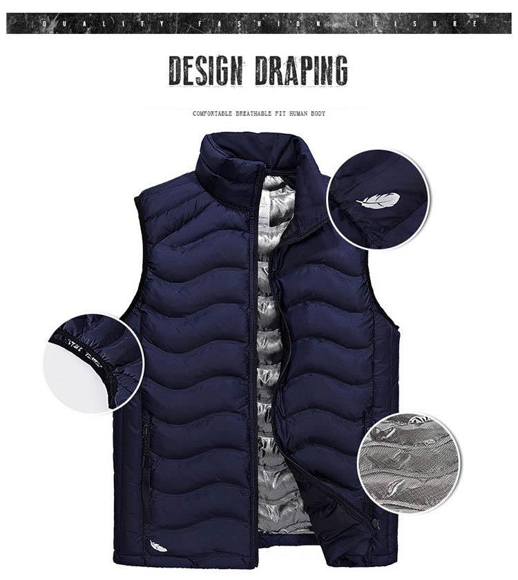 058360a3079 Afs Jeep Autumn Winter Vest Men Fashion Warm Sleeveless Jacket Men Plus Size  L-4XL Mens Waistcoat Stand Collar Casual Vest
