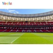 цена Yeele Atletico Madrid Football Field Soccer Player Poster Ad Photographic Backgrounds Photography Backdrops For The Photo Studio онлайн в 2017 году