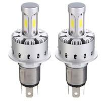 2PCS H4 H7 H11 9005 9006 COB LED Car Headlight Bulb Kit 6500K White 6500K 6000LM