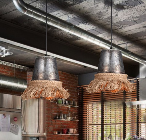 Loft Style Iron Hemp Rope Droplight Edison Pendant Light Fixtures For Dining Room Hanging Lamp Vintage Industrial Lighting edison loft style hemp rope droplight industrial vintage pendant light fixtures for dining room hanging lamp lamparas colgantes