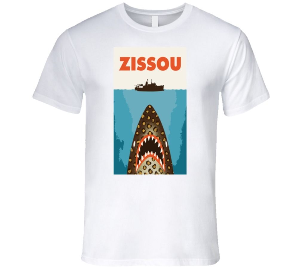 ZISSOU BILL MURRAY THE MOVIE WES ANDERSON JAWS PARODYT Shirt image
