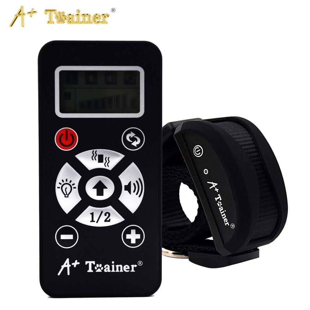 Nuovo 2 in 1 Remote 800 M Collari di Addestramento Del Cane Vibration suono Automatico Anti Collare IP7 Impermeabile Addebitabile Per Pet cani