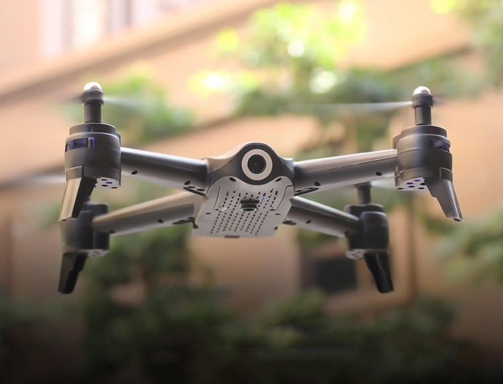 Cadeau pour enfants Drone de contrôle facile RC quadrirotor Full HD 720P caméra WIFI FPV Drone RC une clé décollage/atterrissage/arrêt vol Stable - 4