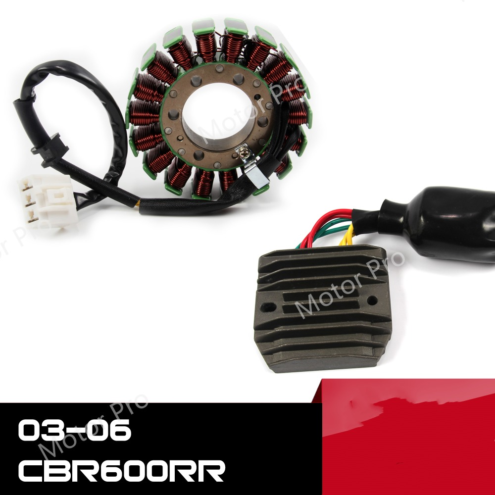 OCPTY Voltage Regulator Rectifier Compatible with 2003-2006 Honda CBR600RR 2001 Honda CBR929RE 2000-2001 Honda CBR929RR