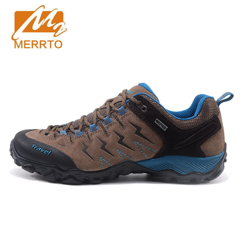 Merrto 2018 Autumn And Winter New Outdoor Hiking Shoes Male Anti-skid Wear Walking Shoes Women Outdoor Shoes Sports Men Shoes mulinsen brand new winter men sports hiking shoes cowhide inside keep warm sport shoes wear non slip outdoor sneaker 250666