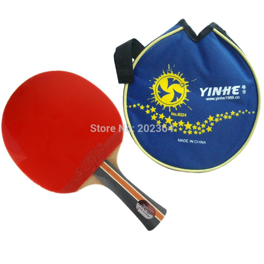 Galaxy Milky Way Yinhe 04B 04 B 04-B Pips-In Table Tennis Racket Shakehand with Case for Ping Pong Long Shakehand  FL