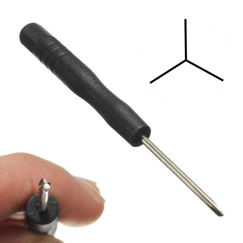 Nový nástroj Triwing Three-Wing Screwdriver Screw Driver Repair Tool Y Tip pro Nintendo Wii DS Lite Game Cube Game boy