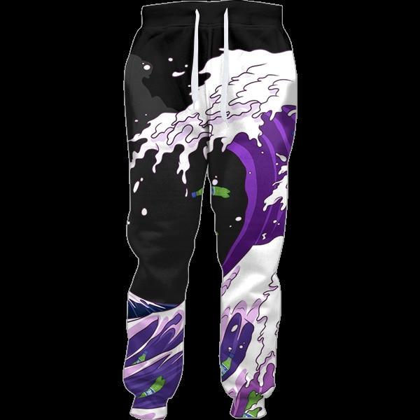 Purple Drank Waves Joggers Women Harajuku Full Length Notorious Codeine Syrup 3d Jogger Sweatpants Men Hip-hop Trousers Pants