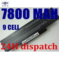 New 9cells 7800mah Laptop Battery For Asus A32 K72 A32 N71 A72 K72D K72 K72J