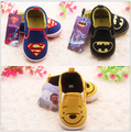2015 New spring autumn baby shoes brand baby boys superman cartoon kids shoes bebe tenis infantil first walkers shoes