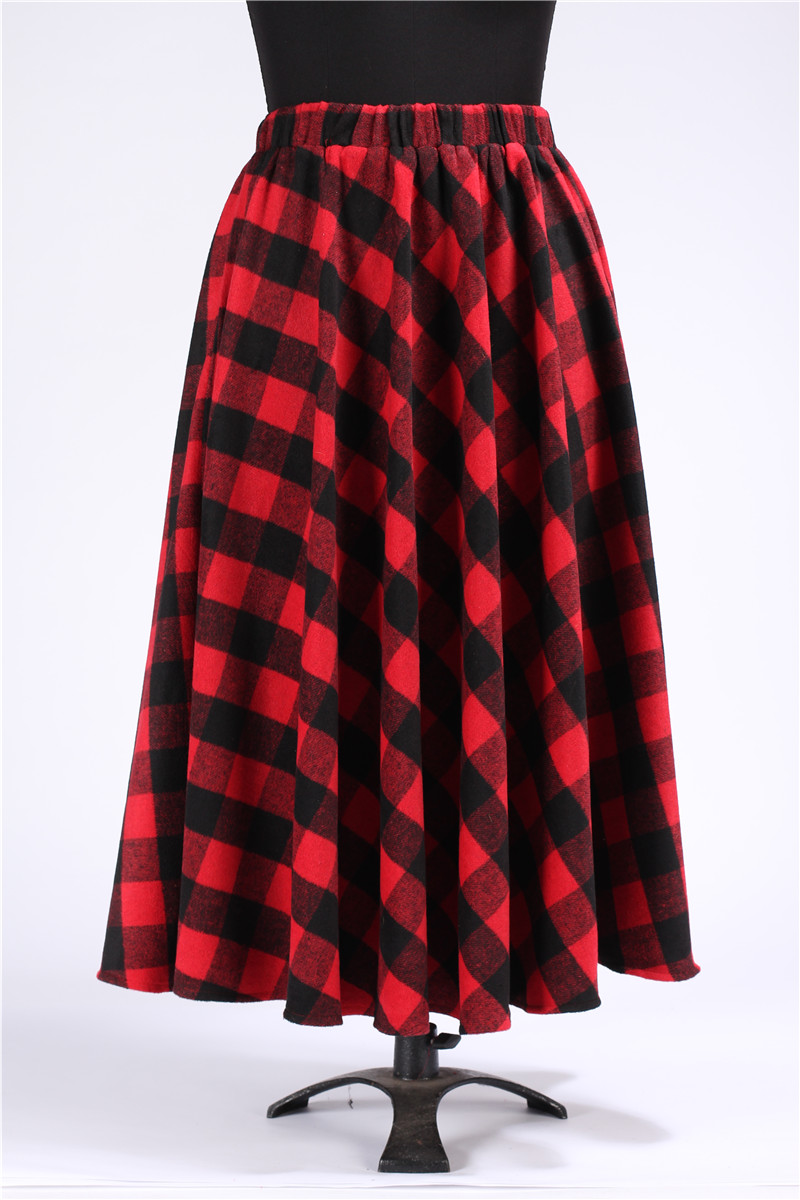Online Buy Wholesale red tartan skirt from China red tartan skirt ...