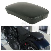 Motorcycle Balck Passenger Seat Backrest Pad W/ 6 Sucker Removable For Yamaha Honda Harley Cruiser