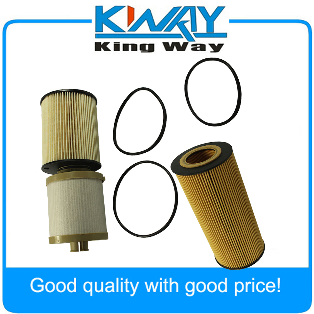 New Oil Fuel Filter Fl2016 Fd4617 Fits For Ford 64l Powerstroke Diesel Engine In Air Filters From Automobiles Motorcycles On Alibaba
