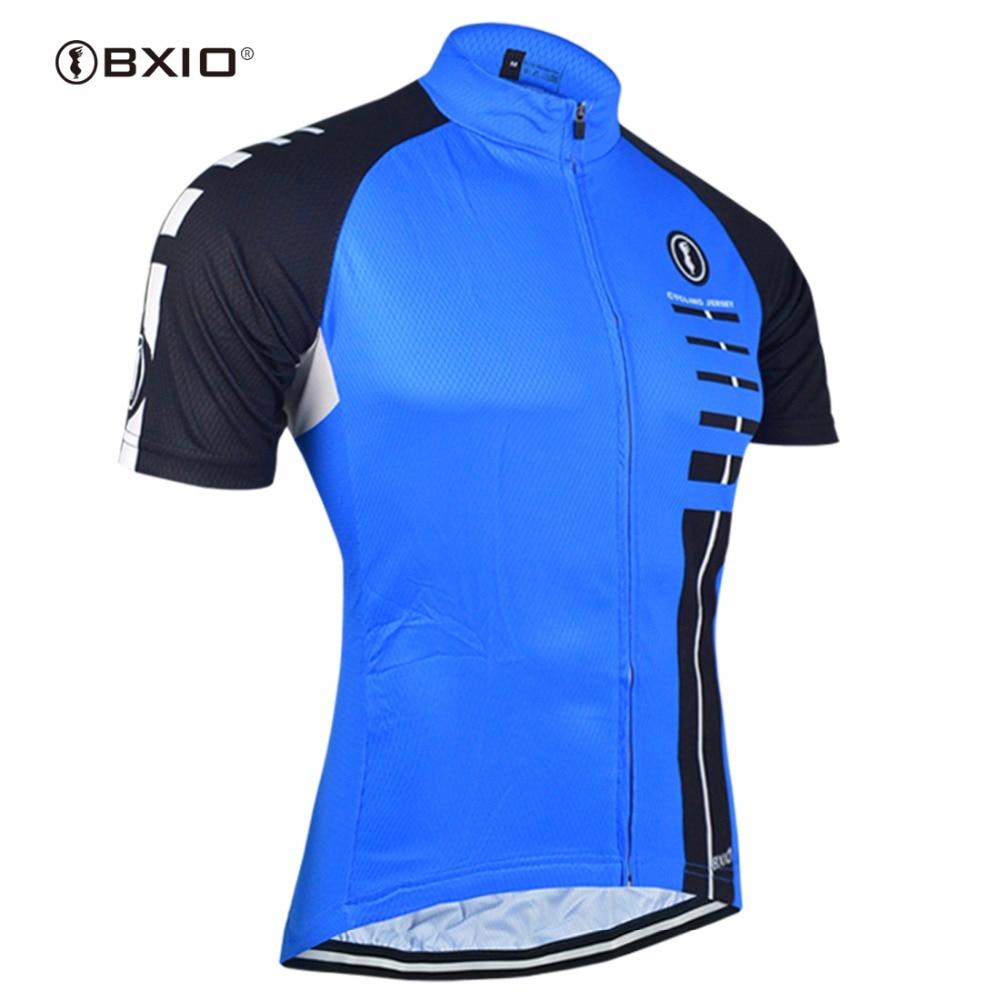 BXIO सायक्लिंग जर्सी Ropa Ciclismo Hombre Verano लघु आस्तीन Profesional साइकिल Jerseys माउंटेन बाइक वस्त्र BX-0209B029-J