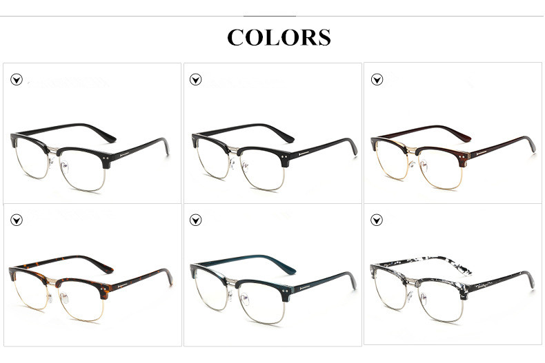 Eyeglasses Frame To Look Younger : 2015 new fashion spectacles brand eyeglasses frame optical ...