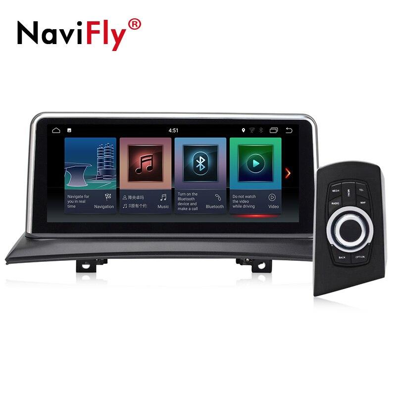 Livraison gratuite! lecteur radio de voiture Quad core 2 GB + 32 GB android 7.1 gps pour BMW X3 E83 2004-2010 avec wifi bluetooth navi