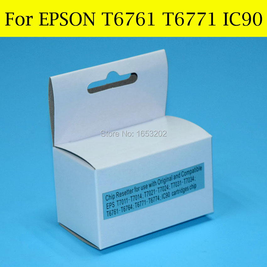 1 Piece Chip Resetter For Epson T6771 T676XL For EPSON PX-B700/ B750F WorkForce Pro WP-4011/WP-4511/WP-4521 WP-4531 Printer t6761 t6764 auto reset chip for for epson workforce pro wp 4010 wp 4023 wp 4090 4520 4533 wp 4590 wp4530 wp4540 676 xl 676xl
