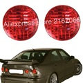 fits LEXUS IS200 IS300 1998 - 2005 Rear Lamps RIGHT+LEFT Tail Lights inner Trunk - RED fits TOYOTA ALTEZZA PAIR