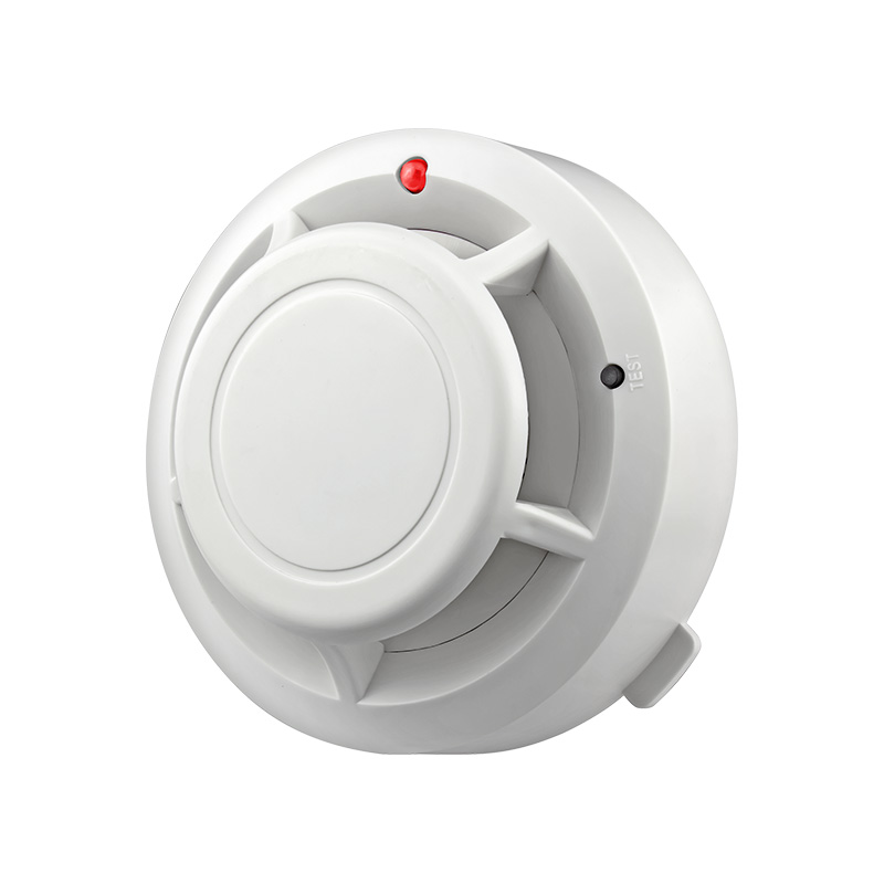 FUERS High Sensitive Stable Independent Alarm Smoke Detector Home Security Wireless Alarm Smoke Detector Sensor Fire Equipment