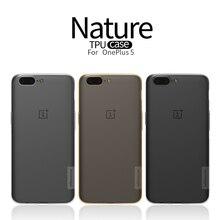 Телефон сумка для OnePlus 5 A5000 чехол Slim Crystal Clear ТПУ силиконовый защитный рукав для Oneplus5 один плюс 5 телефон сумка
