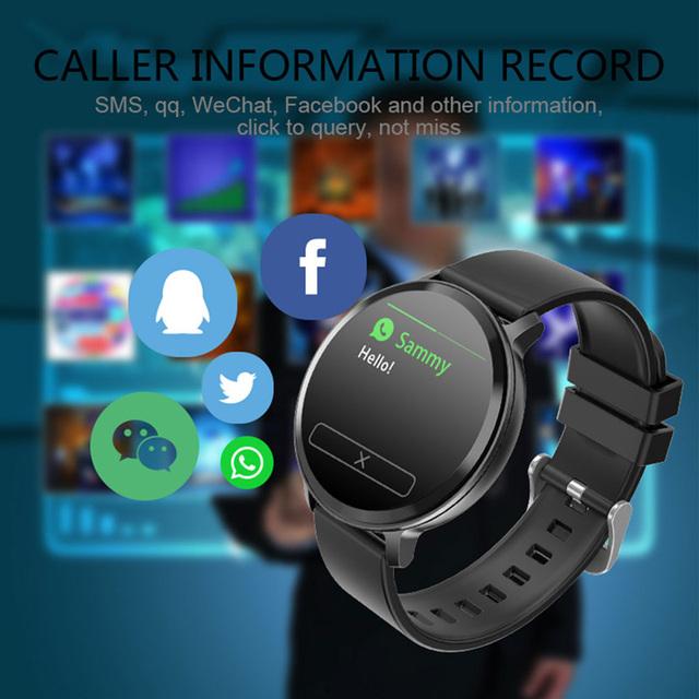 2019 Bluetooth Smart Watch Men Blood Pressure Smartwatch Women Smart Watch Waterproof Sport Tracker WhatsApp For Android Ios