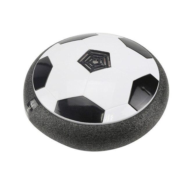 254ba4ef17d7 Air Power Soccer Disc Football Indoor Outdoor Hover Ball LED Lighting Music  Toys Novelty Practical Jokes