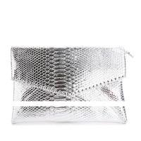 CHALLEN Women S Clutch Bag Night Party Style All Match Envelope Bag Snake Grain Shiny PU
