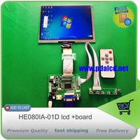 Universal HDMI VGA 2AV 50PIN TTL LVDS Controller Board Moudle 8 Inch 1024 768 HE080IA 01D