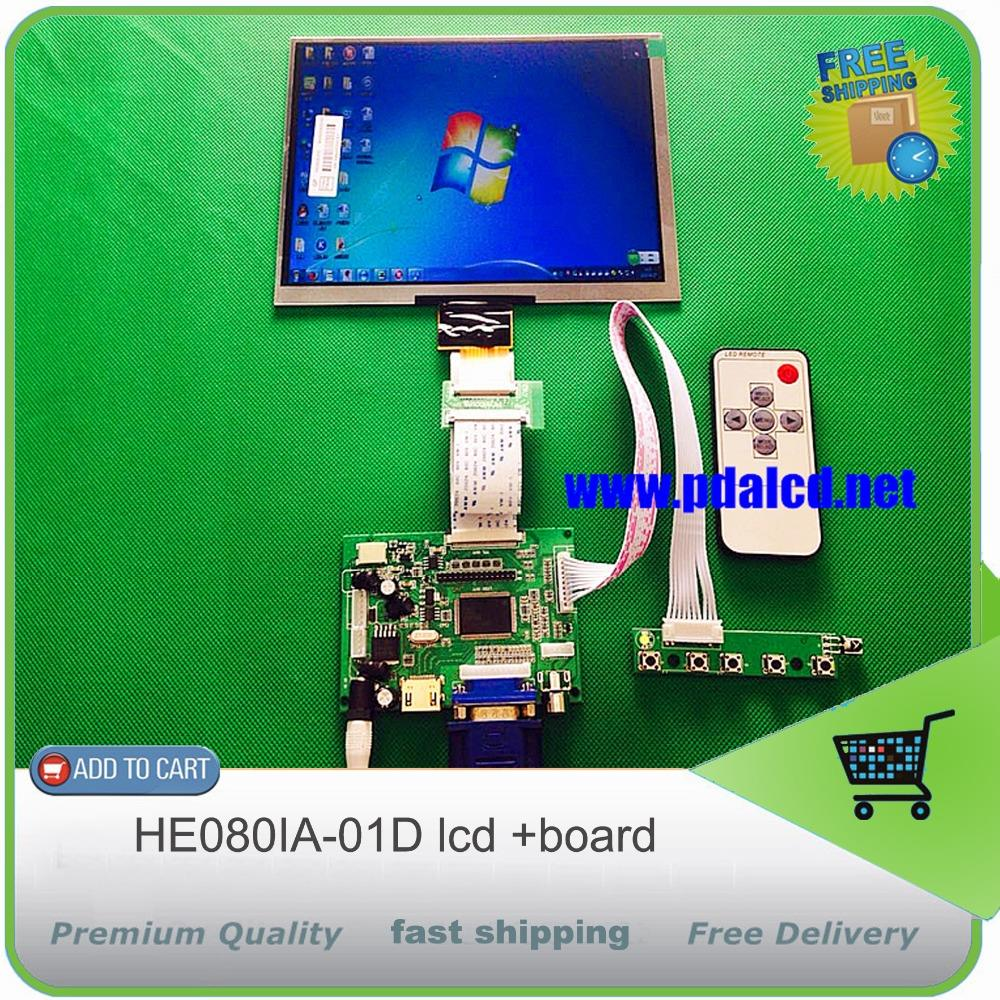Universal HDMI VGA 2AV 50PIN TTL LVDS Controller font b Board b font Moudle 8 inch