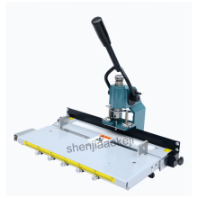 SL-8300 Manual punching machine Punching thickness 3cm With mobile platform Punching machine Drilling machine