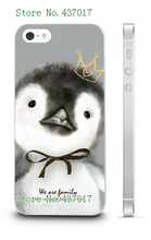 Top Quality Mobile Phone Case Cover Fashion Cute Cartoon Animals Plastic Patterned for IPHONE 5 5s