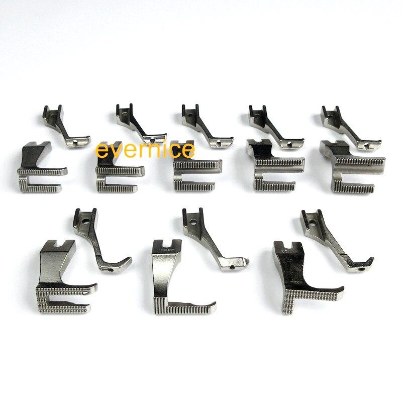 8 sätze Walking Piping & Welting Zipper Füße für Juki DU 141 DU 1181 Econosew 797 Artisan-in Nähwerkzeuge & Zubehör aus Heim und Garten bei  Gruppe 1