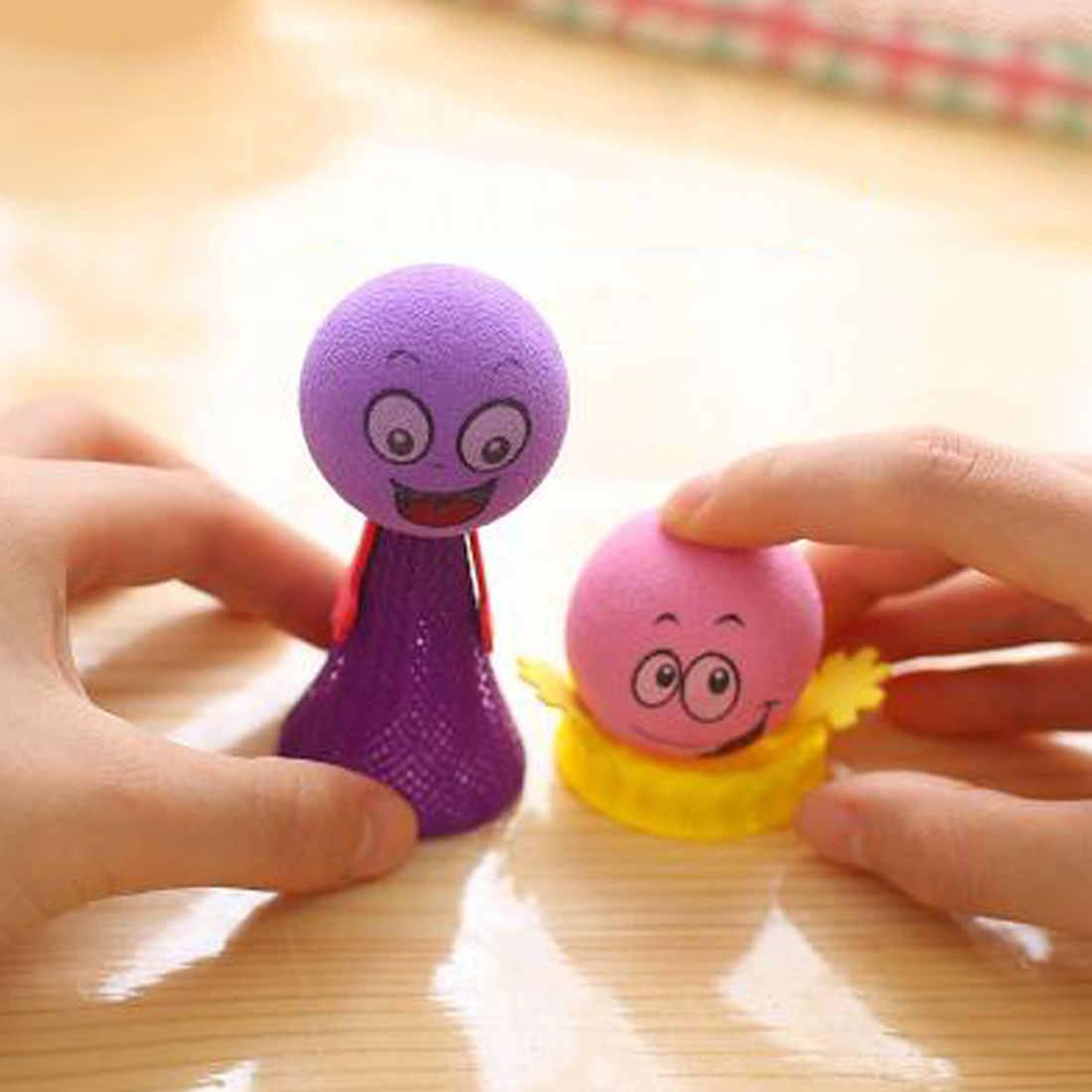 Baru Memantul Elf Mainan untuk Anak Memeras Melompat Bounce Elf Lelucon Mainan untuk Anak-anak Pesta TK Permainan Paskah Hadir