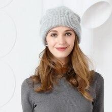 Nueva llegada de Corea del Sur de la moda señora sombrero gorro de lana que  hace punto coreano del todo-fósforo marea dulce feme. 24d4ddf9d94