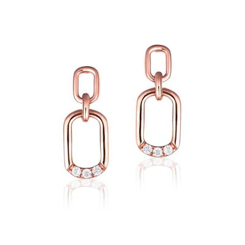 2018 Stud Earrings For Women Bohemian Round Earrings Female Fashion Jewelry 2018 18K Gold Femme Ear Studs Bijuteria Feminina цена