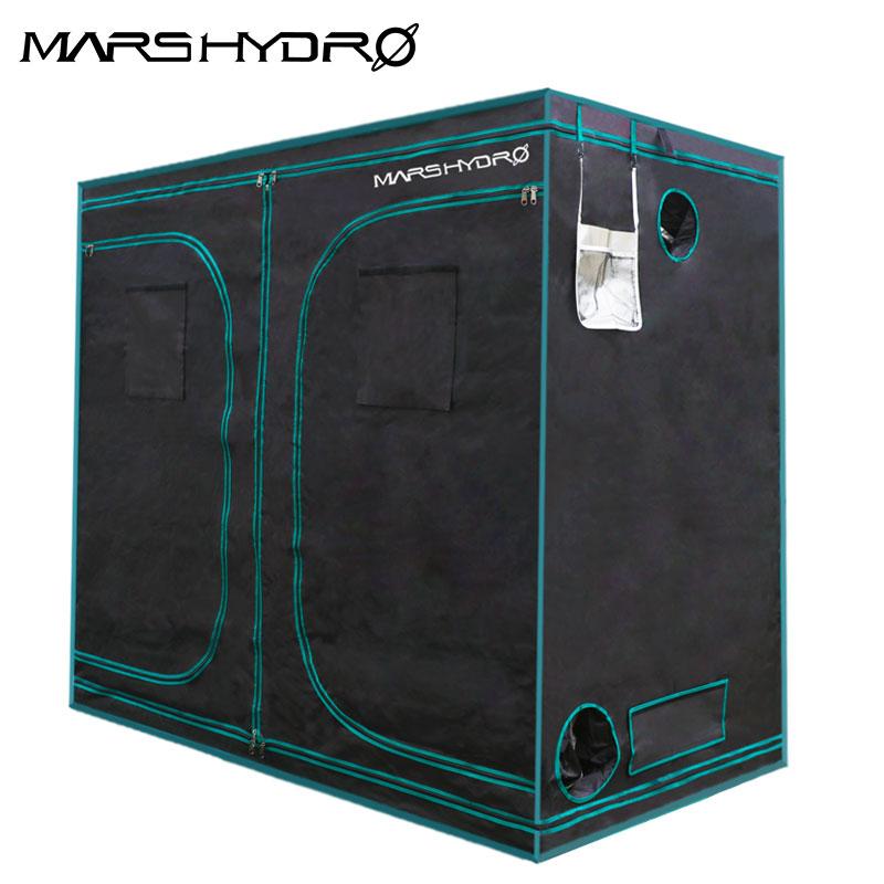 Mars 1680D Hidro 240X120X200 cm Interior LED planta Crescer Tenda Coberta Crescente Sistema de Não-tóxico sala de jardim Interior à prova de Água-cabana