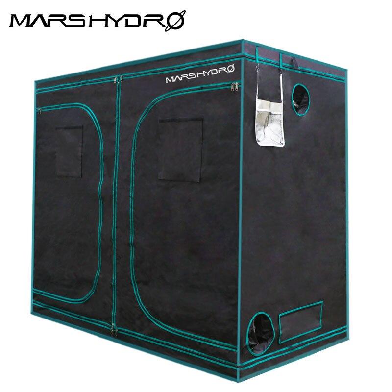 1680D Mars Hydro 240X120X200cm Indoor LED Grow Tent Indoor Growing  System Non-toxic Plant Room Indoor Garden Water-proof Hut