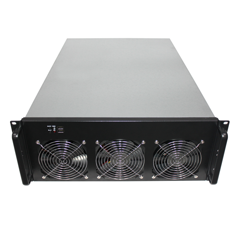 4U Ethernet Chassis 6 Video Card Chassis Multi GPU Chassis Multi Video Card Box Support OEM New vg 86m06 006 gpu for acer aspire 6530g notebook pc graphics card ati hd3650 video card