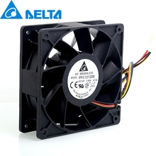 12V 12038 4.8A PFC1212DE super large wind volume and double ball bearing violent 4-wire fans for