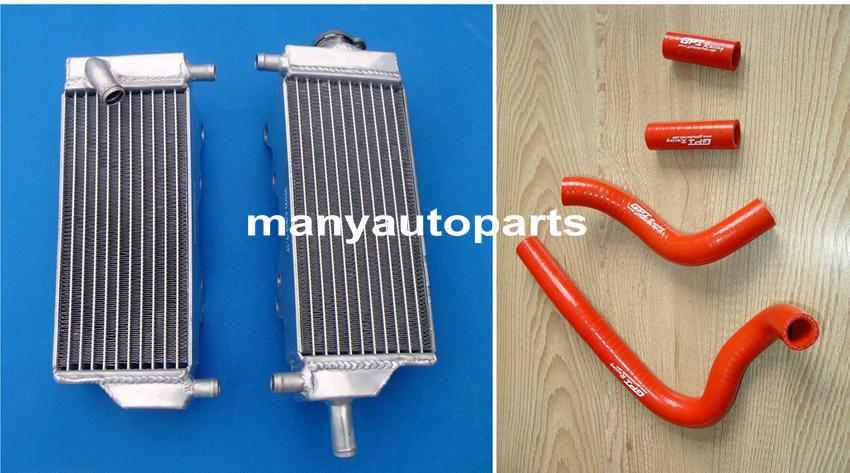 Honda CR250 CR250R CR 250 R 2002-2004 2003 2004 02 03 04 radiator and hose BLUE