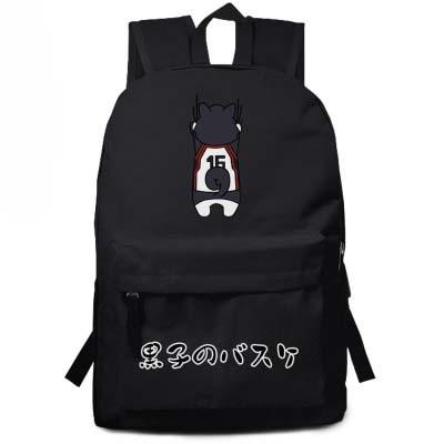 Kurokos Basket ball backpack Akashi Seijuro Murasakibara Atsushi Cosplay Bags Anime Nylon Cartoon Schoolbags