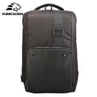 Kingsons Multifunction USB Charging Men 15 17 Inches Laptop Backpacks For Teenager Fashion Male Mochila Leisure Travel Backpack
