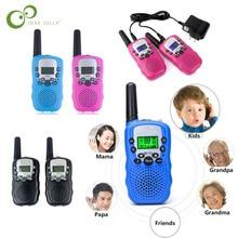 2 шт. = 1 пара RT-388 Walkie Talkie Игрушки для детей 0,5 Вт 22CH двухстороннее детское радио для мальчиков и девочек на день рождения Рождественский подарок GYH