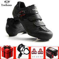Tiebao Road Cycling Shoes men add Pedal set Unisex Breathable Self-locking Bike Bicycle sneakers Sapatilha Ciclismo bike Shoes